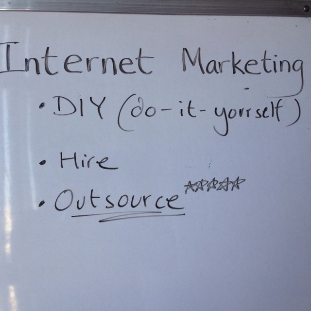 DIY or Outsource Internet Marketing